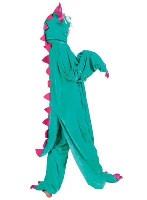 Disfraz de monstruito verde para adulto - original