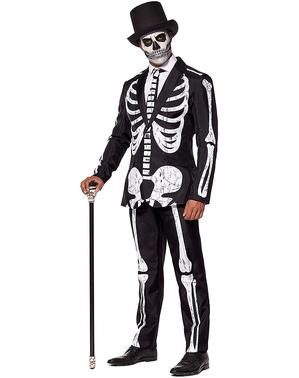 Vestito da scheletro - Suitmeister