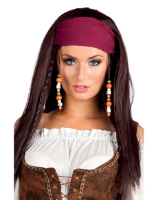 pirat hår