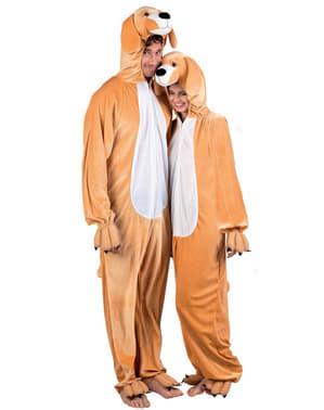 Hunde Stofftier Kostüm für Herren
