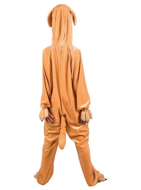 Disfraz de perro de peluche para hombre - traje