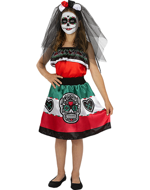 Catrina Costume for Girls