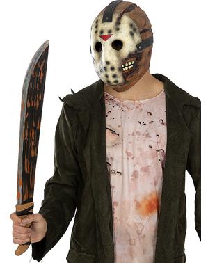 Fredag den 13. Jason Latex Maske