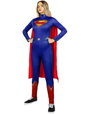 Plus size kostým Supergirl