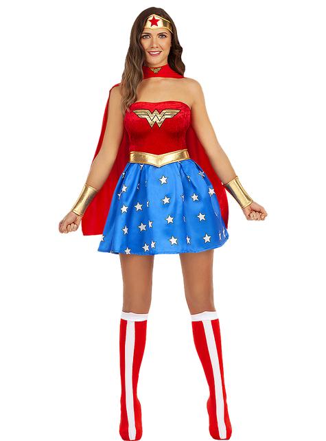 Disfraz de Wonder Woman sexy talla grande