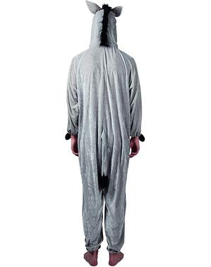 Esel Stofftier Kostüm für Erwachsene