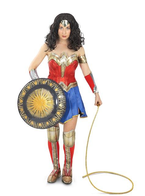 Peluca de Wonder Woman