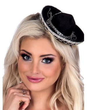 Mini chapeau mexicain femme