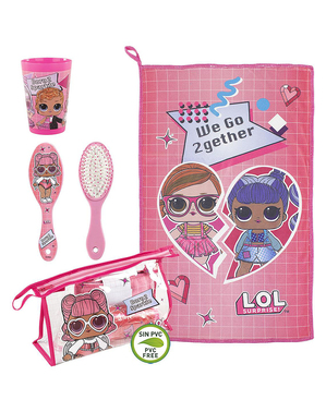 LOL Surprise Toiletry Bag for Girls