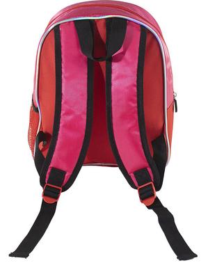Świecący plecak Biedronka dla dziewczynek - Miraculum: Biedronka i Czarny Kot
