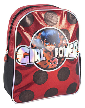 Ladybug Rucksack glitzernd für Mädchen - Miraculous - Geschichten von Ladybug und Cat Noir