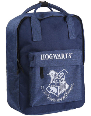 Ryggsäck Hogwarts blå - Harry Potter
