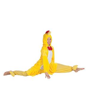 Fylt kylling kostyme til barn
