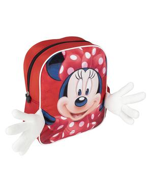 Mochila de Minnie Mouse com mãos