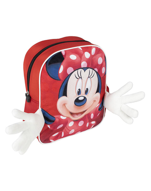 Mochila de Minnie Mouse con manos