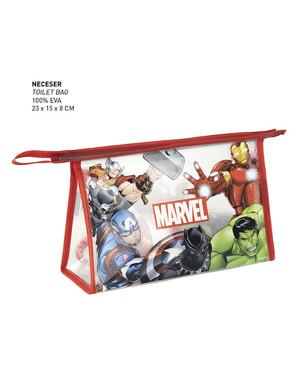 The Avengers Characters Toiletry Bag - Marvel
