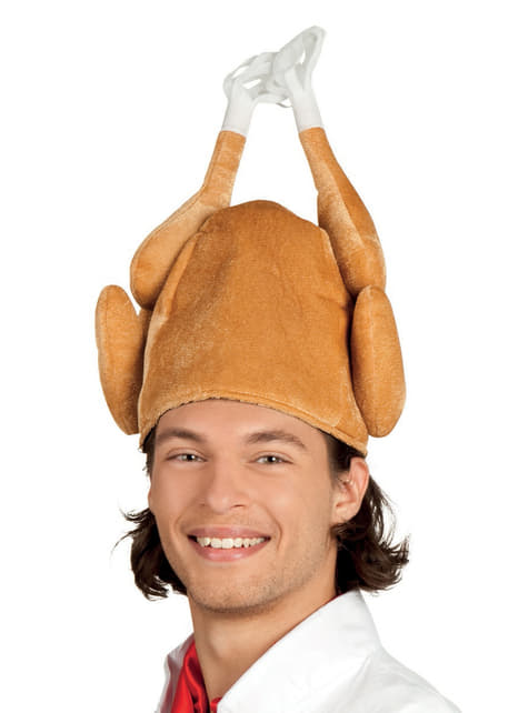 Adult's Stuffed Turkey Hat