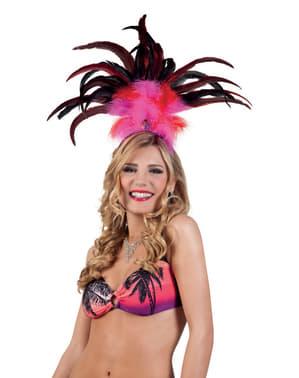 Tiare reine du Carnaval femme
