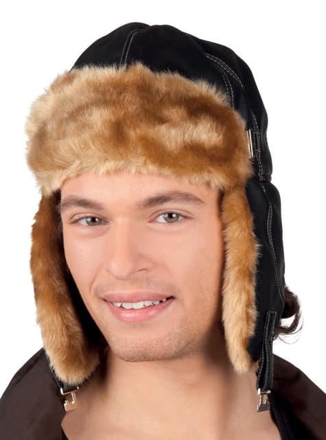 Gorro de aviador invernal para hombre