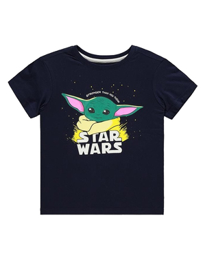 Lasten Mandalorian Baby Yoda -paita - Star Wars