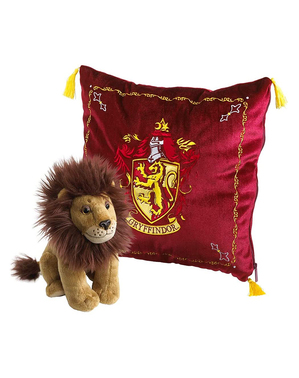 Gryffindor Cushion and Plush Toy - Harry Potter