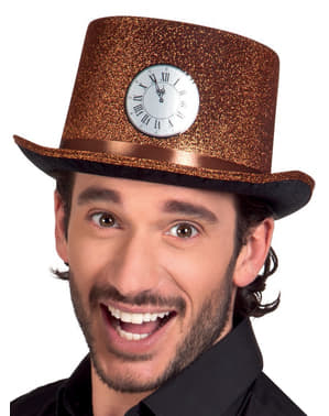 Adult's Midnight Clock Hat