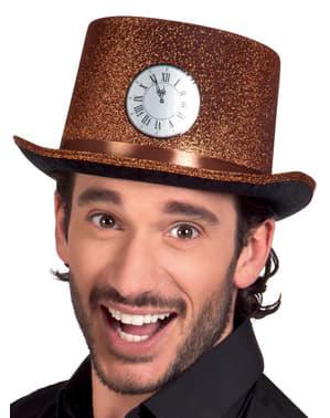 Kapelusz zegarek o północy dla dorosłych