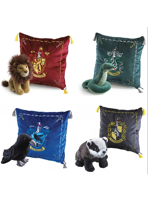 Cojín y peluche de Gryffindor - Harry Potter