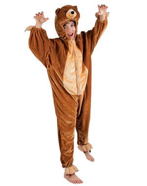 Disfraz de oso de peluche para niño