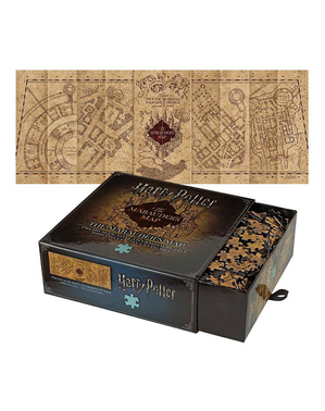 Marauders Kort Puslespil - Harry Potter