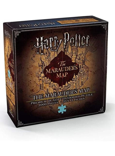 Puzzle del Mapa del Merodeador - Harry Potter