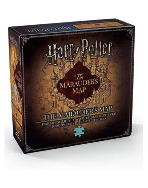 Puzzle Mapa Huncwotów - Harry Potter
