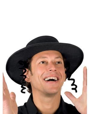 Chapeau rabbin juif homme