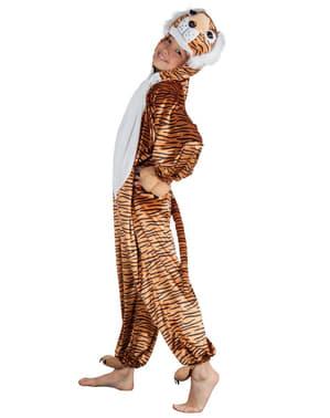Disfraz de tigre de peluche para niño