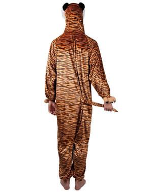 Costum de tigru de pluș pentru băiat