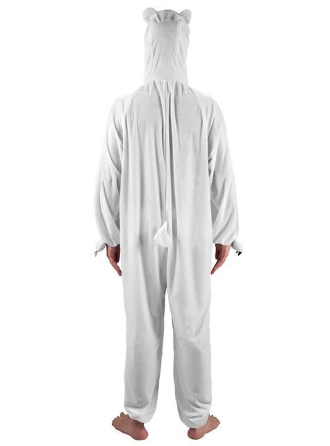Kids's Stuffed Polar Bear Costume