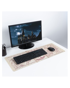 Mouse Pad cu harta Marauderului - Harry Potter