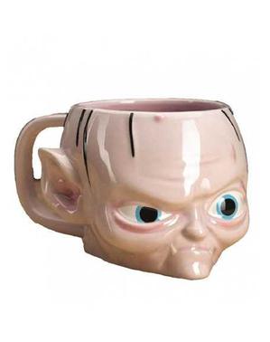Caneca de Gollum 3D - O Senhor dos Anéis