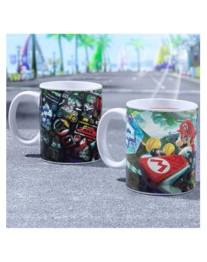 Mario Kart Väriä Vaihtava Muki - Super Mario Bros