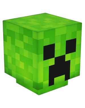 Candeeiro de Creeper - Minecraft