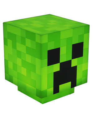 Creeper-lamppu - Minecraft