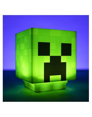 Lampada Creeper - Minecraft