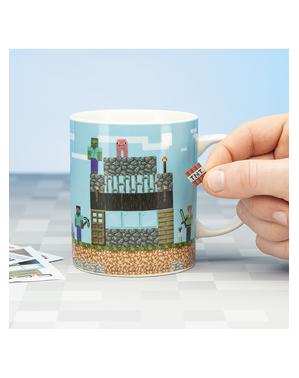 """Minecraft """"Build a Level"""" Mug"""