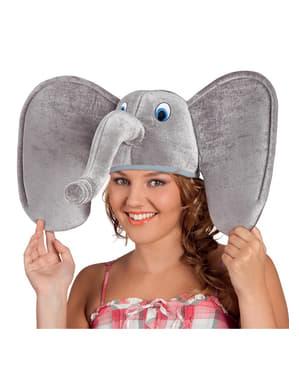 gorro de elefante para adulto