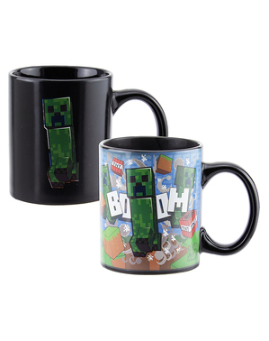 Creeper Colour Changing Mug - Minecraft