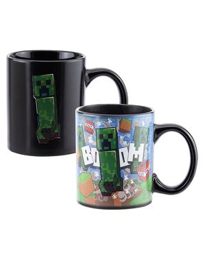 Mugg Creeper byter färg - Minecraft