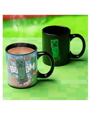 Mug Creeper change de couleur - Minecraft