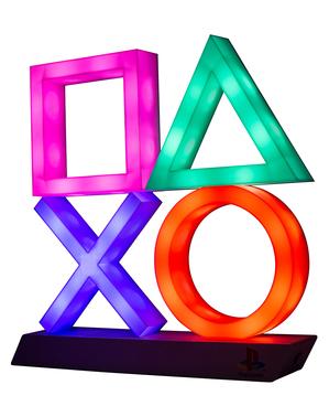 PlayStation Gaming Ikoner Lys XL