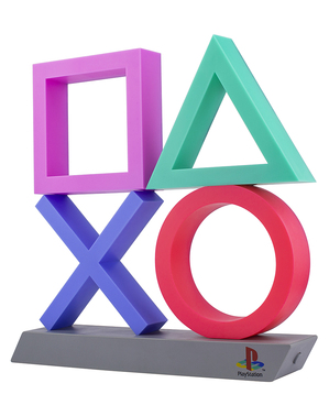 Gaming Lampe aus Playstation Icons Light XL
