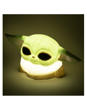 Baby Yoda 3D -valaisin - The Mandalorian